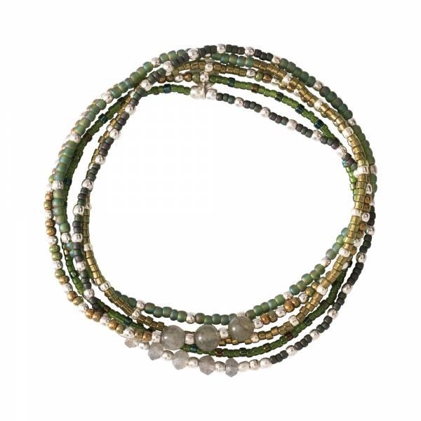 Armband Together Labradorite Silver Bracelet-1