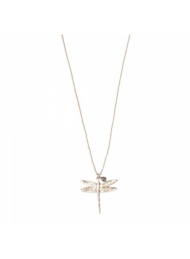 Ketting Paradise Labradorite Silver Necklace
