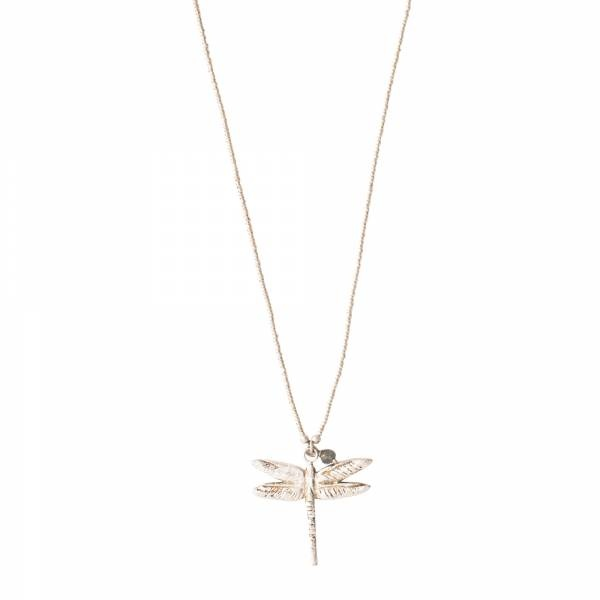 Ketting Paradise Labradorite Silver Necklace-1