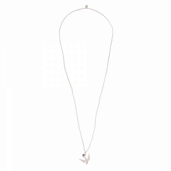 Ketting Paradise Smokey Quartz Silver Necklace-3
