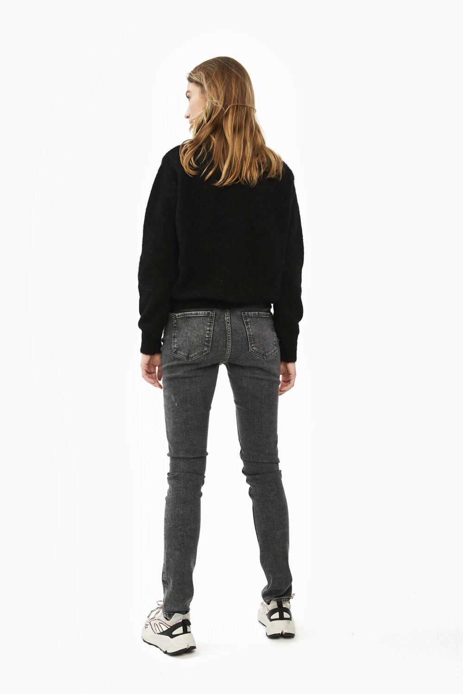 Trui lana organic pullover Black-3
