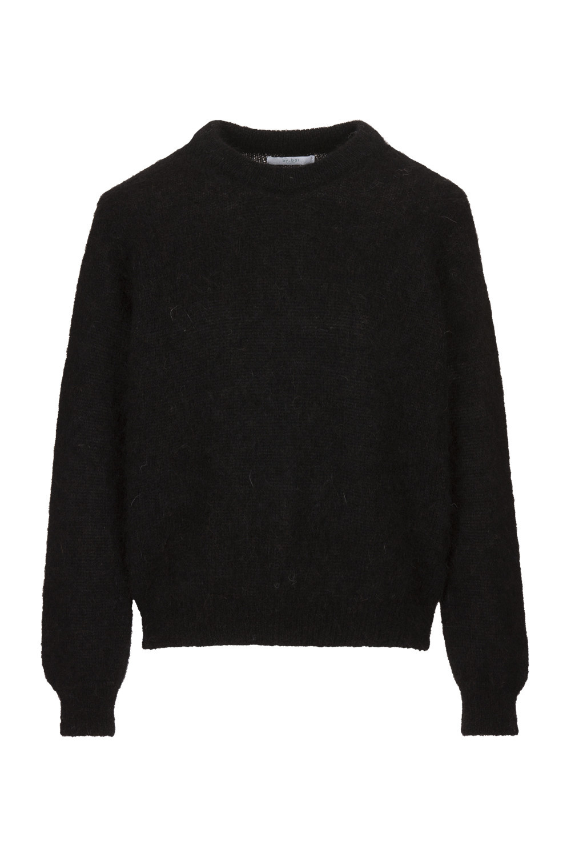 Trui lana organic pullover Black-2