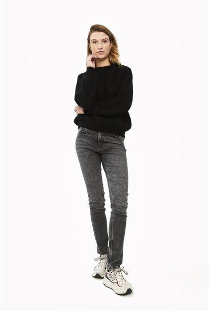 Trui lana organic pullover Black