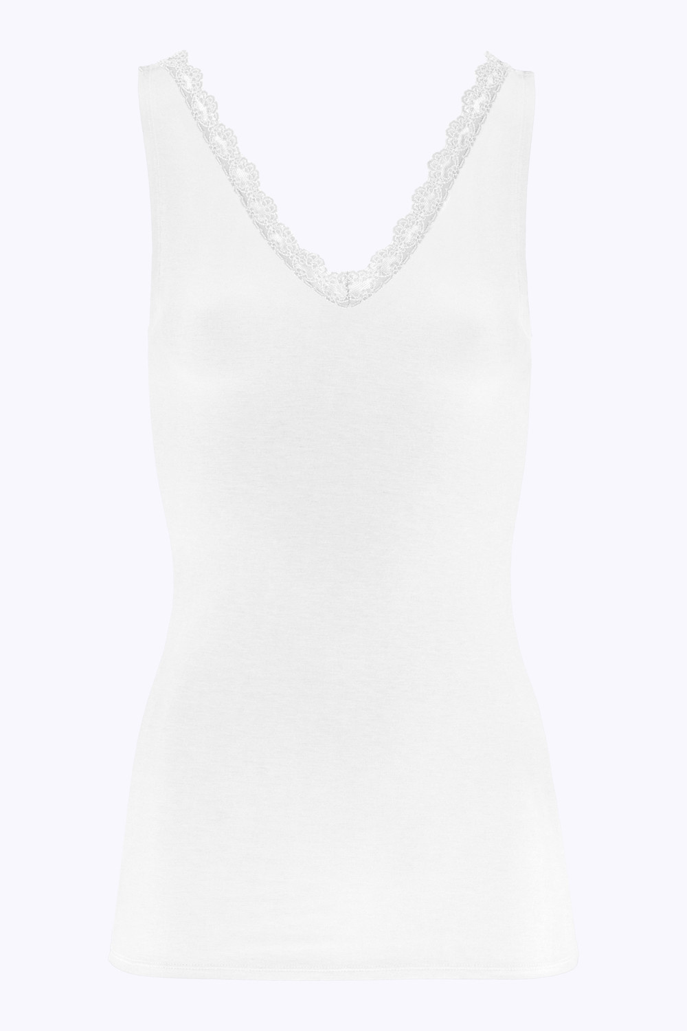 Top lace singlet off white-1