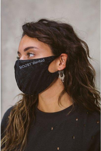 Mondkapje Mask washed black
