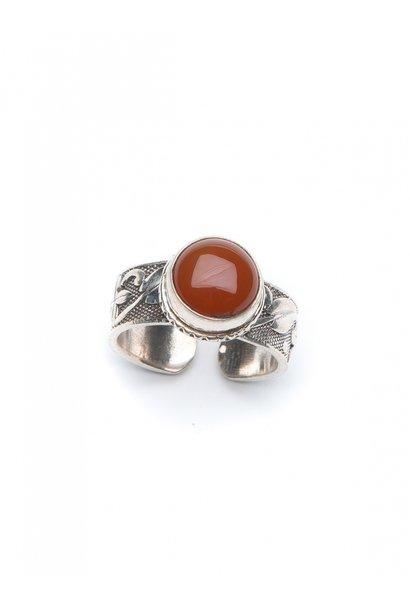 Ring Manga carved ring