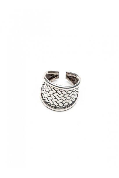 Ring Quadrate silver