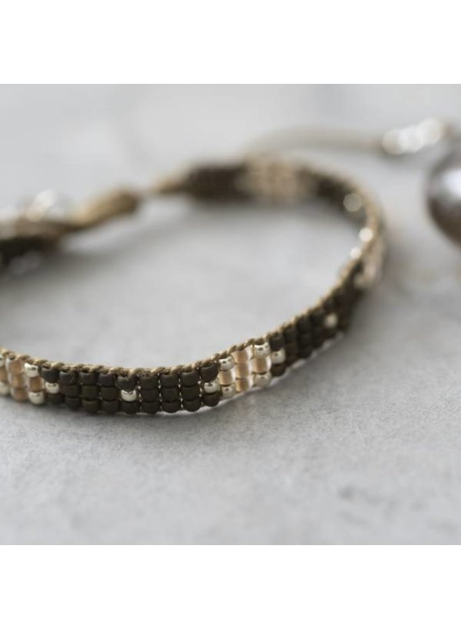 Armband Summerlight Smokey Quartz Silver Bracelet