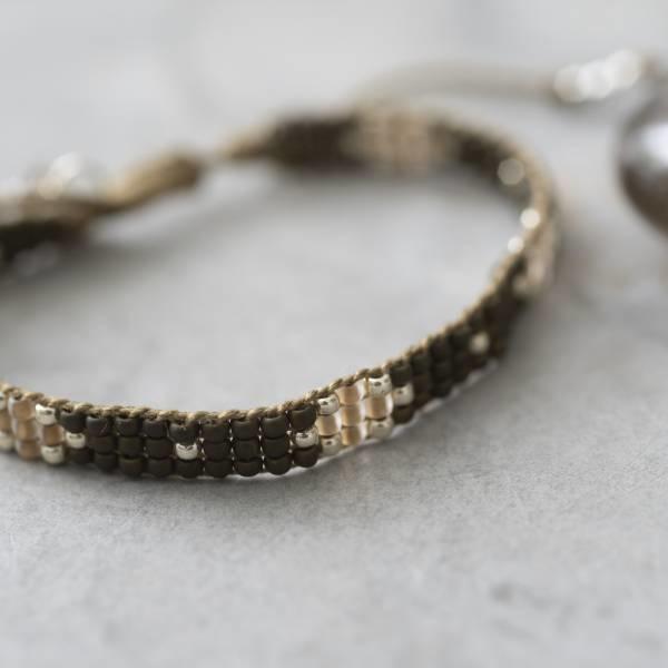 Armband Summerlight Smokey Quartz Silver Bracelet-2
