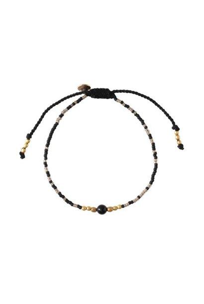 Armband Iris Black Onyx Gold Bracelet