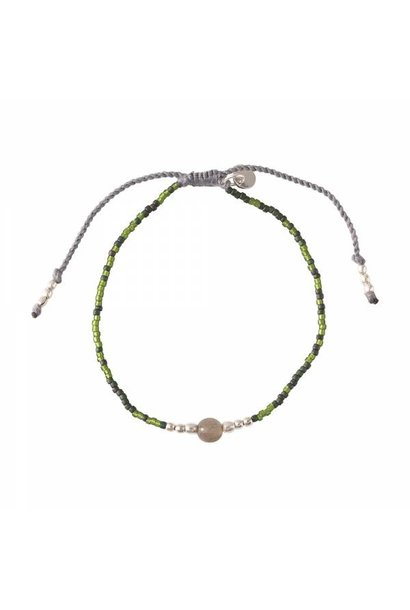 Armband Iris Labradorite Silver Bracelet