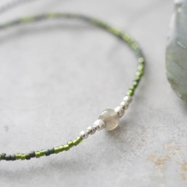 Armband Iris Labradorite Silver Bracelet-2