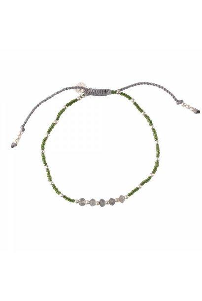 Armband Family Labradorite Silver Bracelet