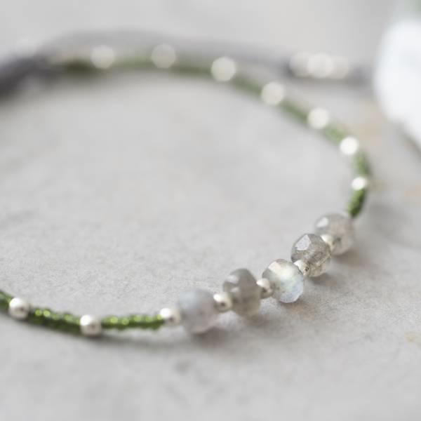 Armband Family Labradorite Silver Bracelet-2