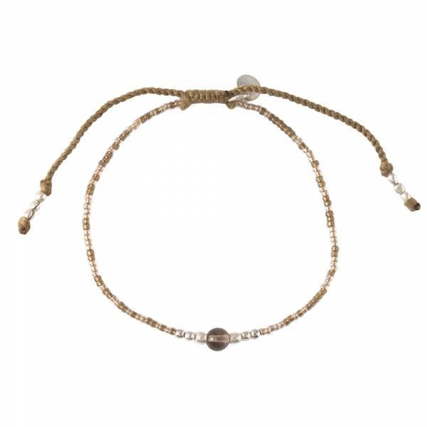 Armband Iris Smokey Quartz Silver Bracelet-1