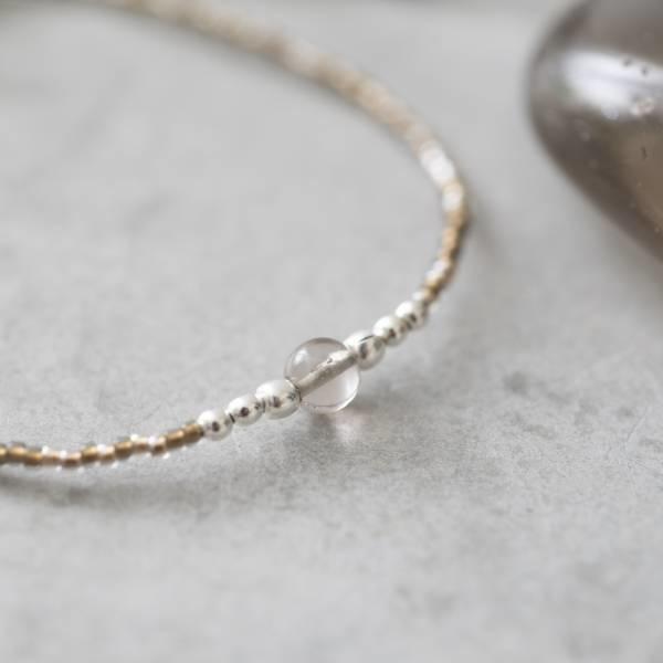 Armband Iris Smokey Quartz Silver Bracelet-2