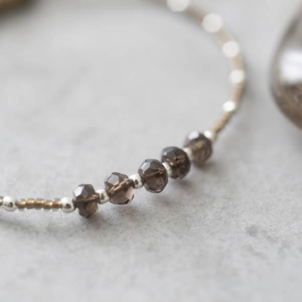 Armband Family Smokey Quartz Silver Bracelet-2