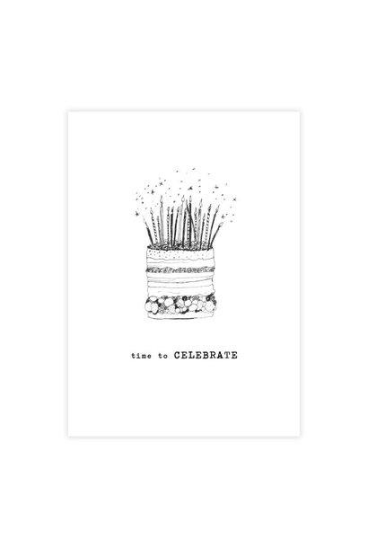 Kaart Greeting Card Cake