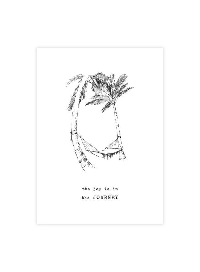Kaart Greeting Card Palmtrees