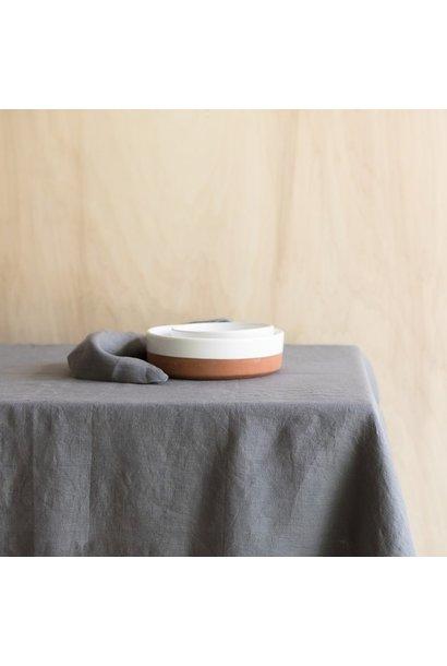 Tafelkleed Washed Linen Orage 175x250