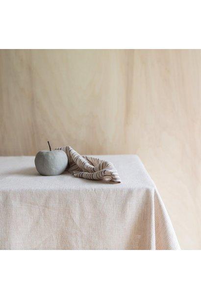 Tafelkleed Thin Stripe Glaise/milk 175x250
