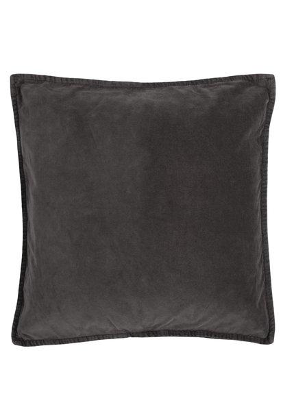 Kussen cover velvet anthracite 52x52