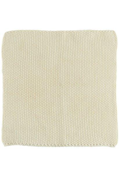 Vaatdoek Mynte latte knitted