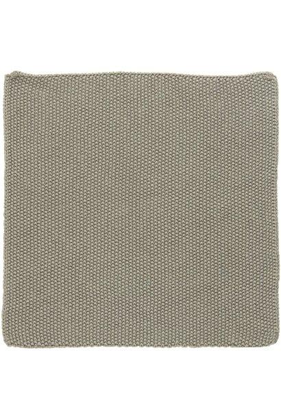 Vaatdoek Mynte sand knitted
