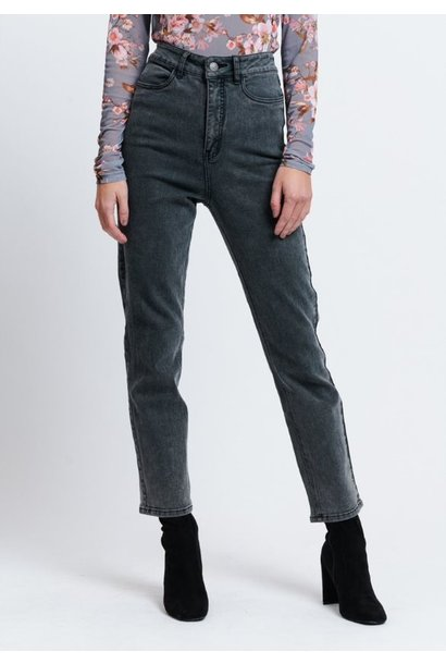 Jeans Nora high waist black wash