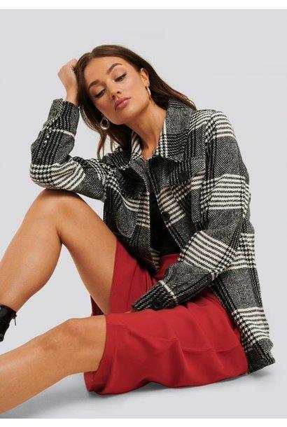 Jas Patricia jacket black/white