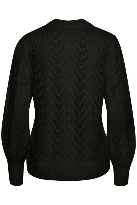 Trui KAsoma pullover black deep-3