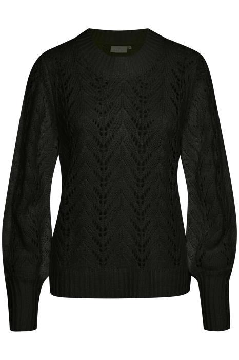 Trui KAsoma pullover black deep-1