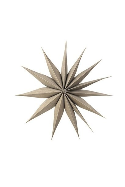 Wanddecoratie Deco star Venok Wood M Fungi