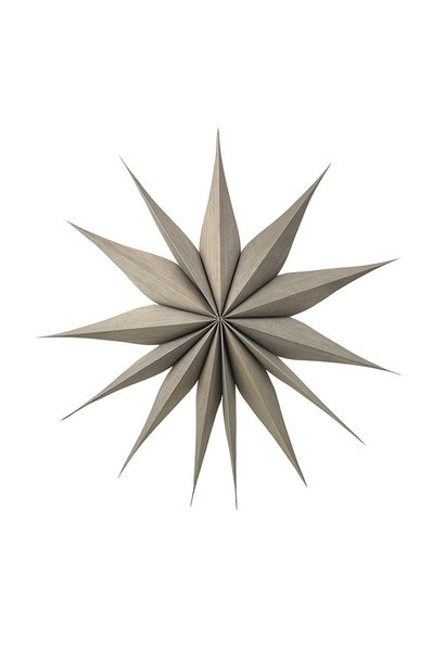 Wanddecoratie Deco star Venok Wood L Fungi