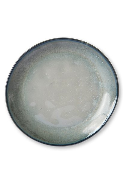 Bord home chef ceramics: side plate grey/green