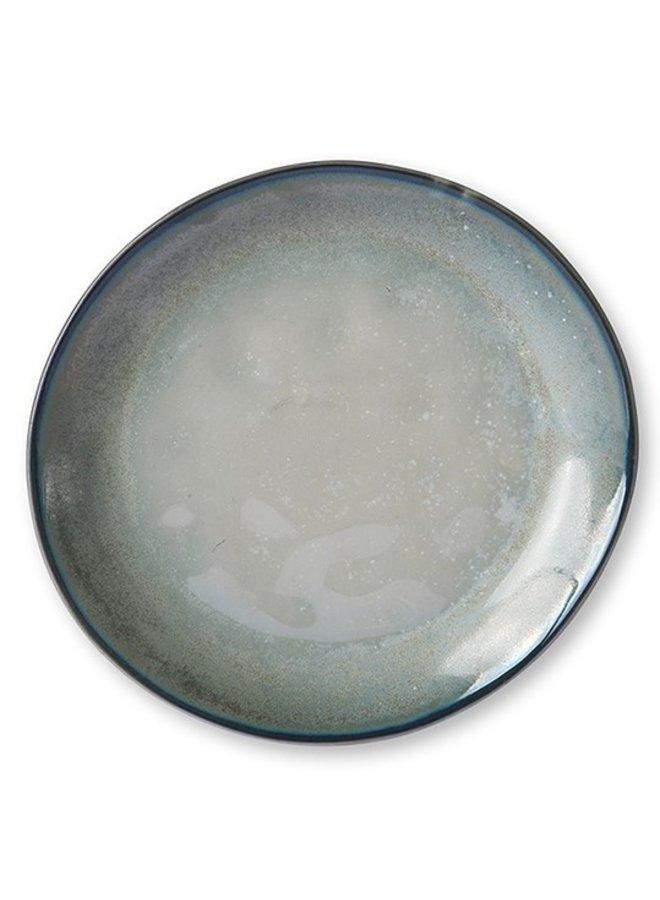 Bord home chef ceramics: side plate grey/green