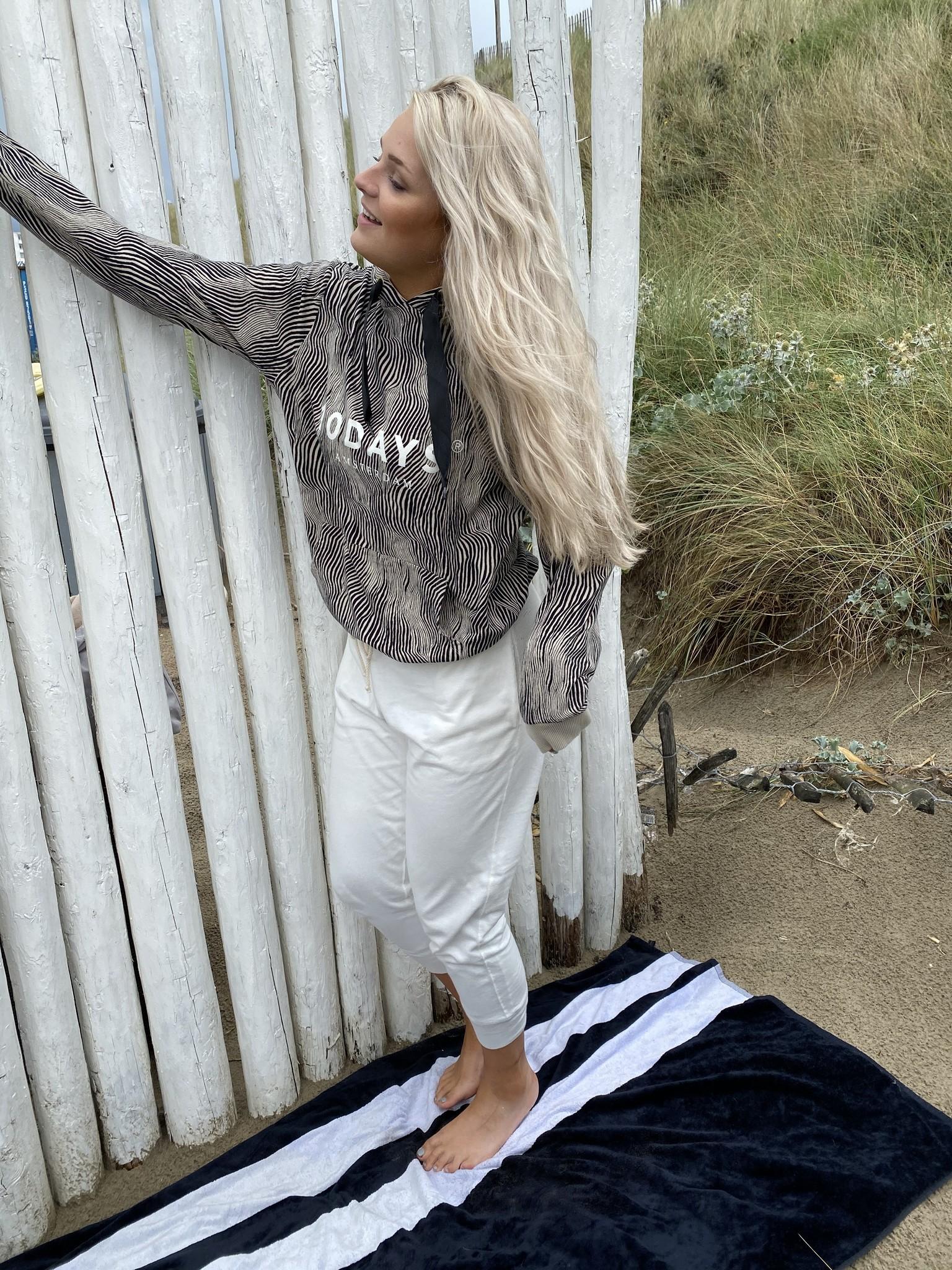 Trui hoodie zebra safari-2