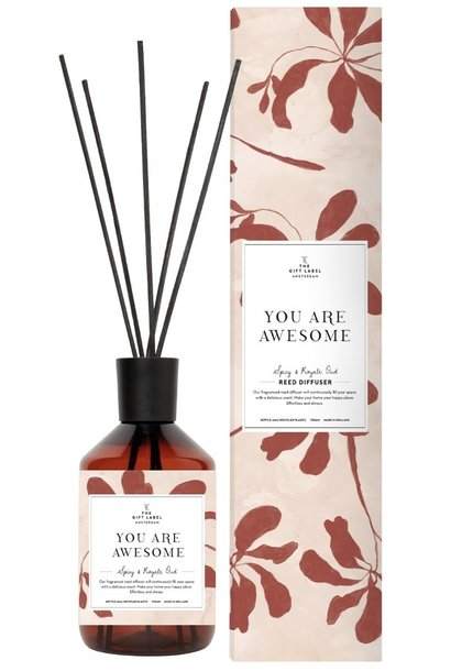 Geurstokjes reed diffuser  you are awesome