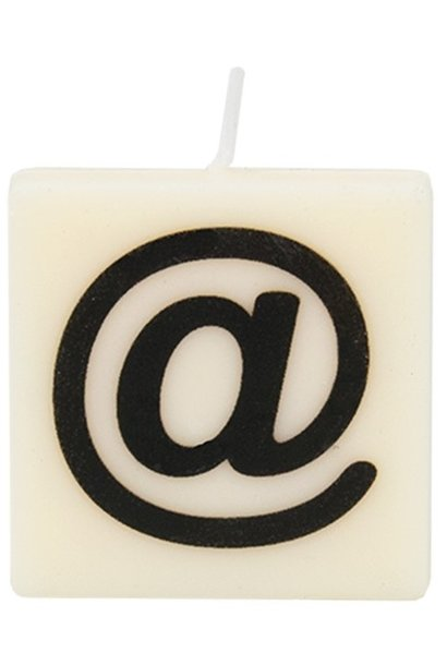 Kaars letter candle @
