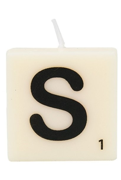 Kaars letter candle S
