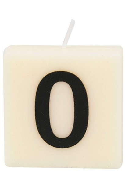 Kaars letter candle 0