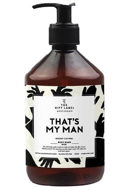 Body wash men that's my man