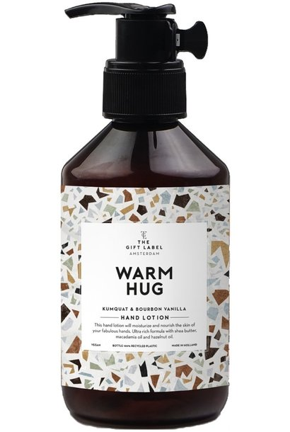 Hand lotion V2 warm hug