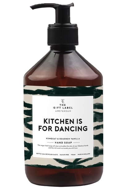 Hand soap kitchen is for dancing