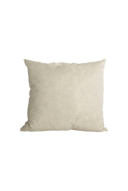 Kussenopvulling white 50x50