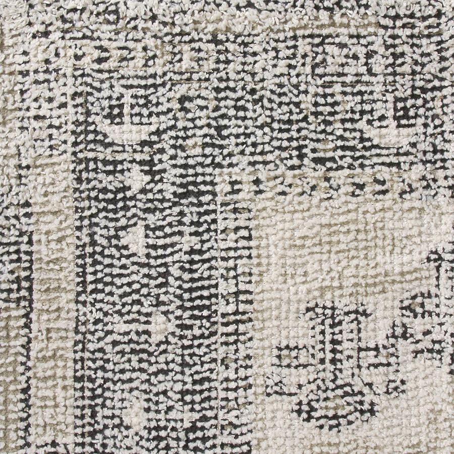 Badmat printed bath mat black/white overtufted (60x90)-4