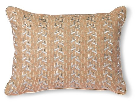 Kussen nude cushion with silver patches (30x40)-3