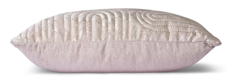 Kussen quilted cushion nude/rosé (40x60)-3