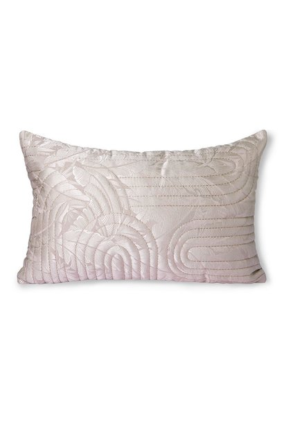 Kussen quilted cushion nude/rosé (40x60)