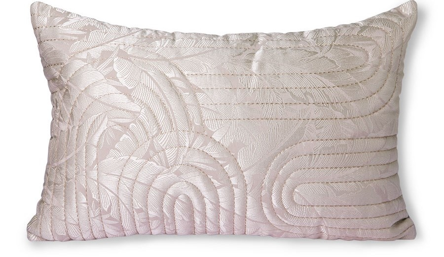 Kussen quilted cushion nude/rosé (40x60)-1